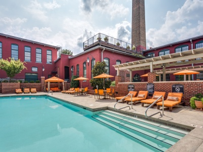 Alpha Mill Apartments Resort-Style Swimming Pool